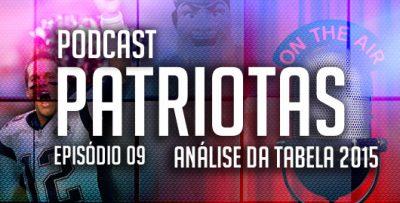 Podcast Patriotas 09 - Análise da tabela 2015