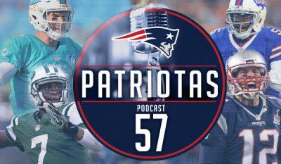 Podcast Patriotas 57 - AFC East