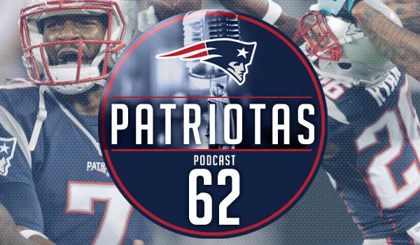 Podcast Patriotas62 - Patriots x Panthers P3
