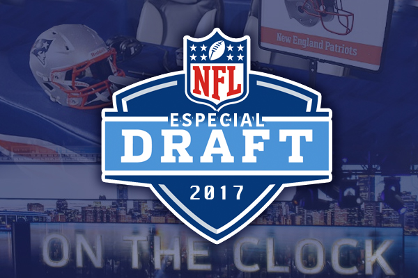 Mock Draft Patriots 2017 por Edu Araújo