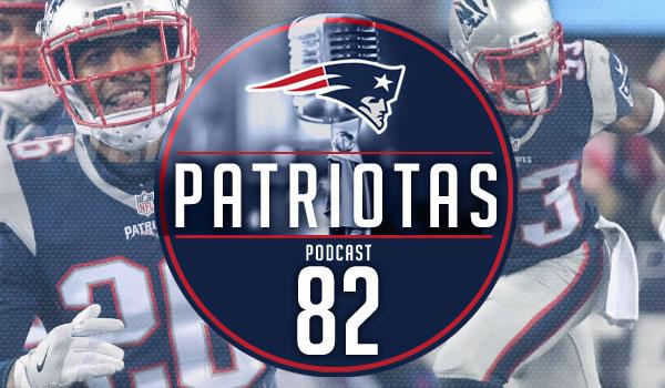 Podcast Patriotas 82 - Playoffs Texans e Steelers