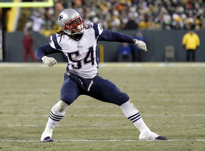 Os free agents dos Patriots disputas