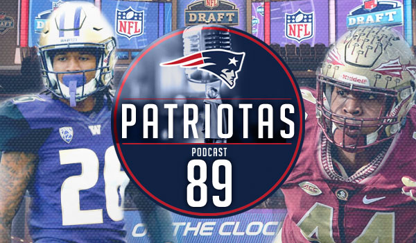 Podcast Patriotas 89 : Expectativa para o Draft