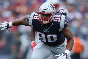Elenco Patriots Trey Flowers Front 7 franchise tag