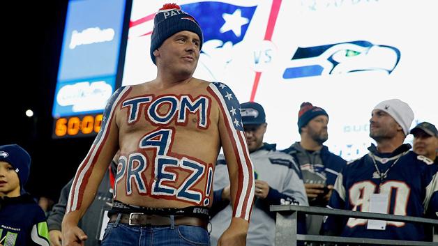 Torcida dos Patriots é TOP 2 segundo pesquisa americana