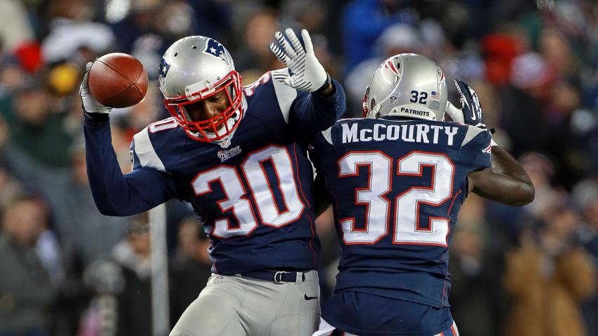 secundária dos Patriots NFL jerseys