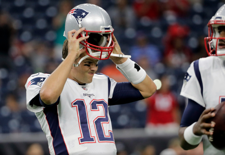 Patriots perdem Texans Pré-temporada Tom Brady