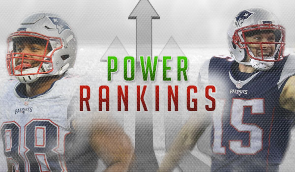 Power Rankings – Divisional Round