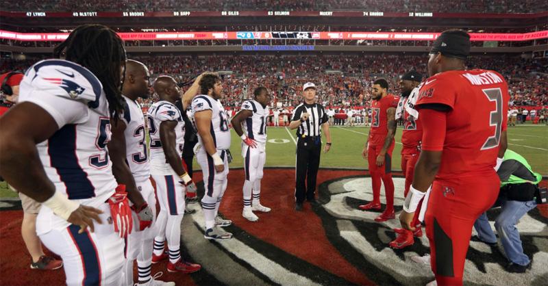 Patriots Bucs Thursday Night Football