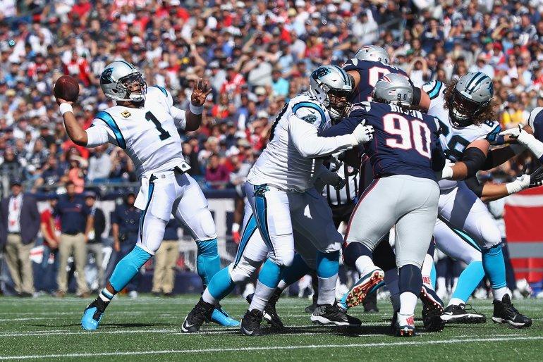 Patriots vencem Panthers