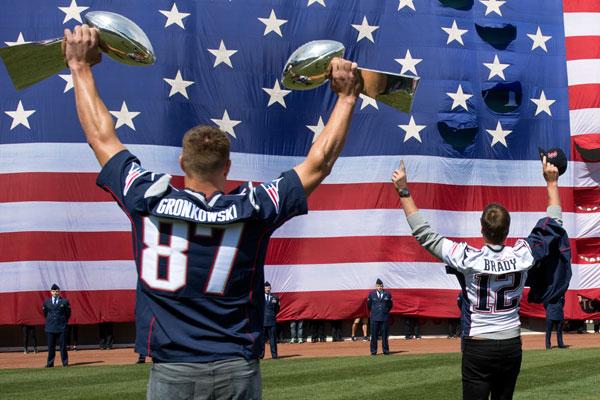recorde New England Patriots Brady