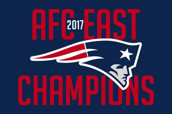 New England Patriots, campeão da AFC East 2017