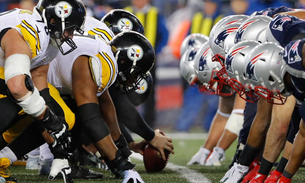Patriots têm dominado confronto contra Steelers