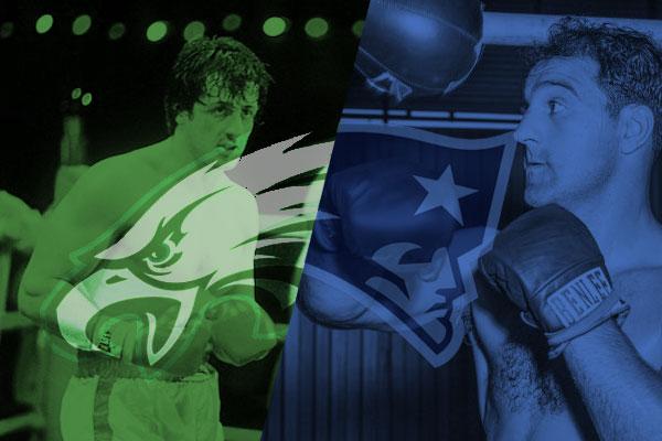 A disputa entre Rocky Balboa e Rocky Marciano neste Super Bowl