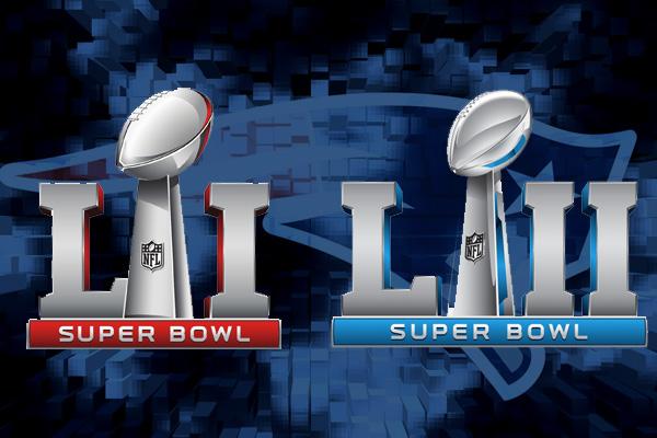 Qual o histórico de Super Bowls seguidos na NFL
