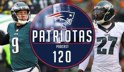 Podcast Patriotas 120 : Raio-x Eagles