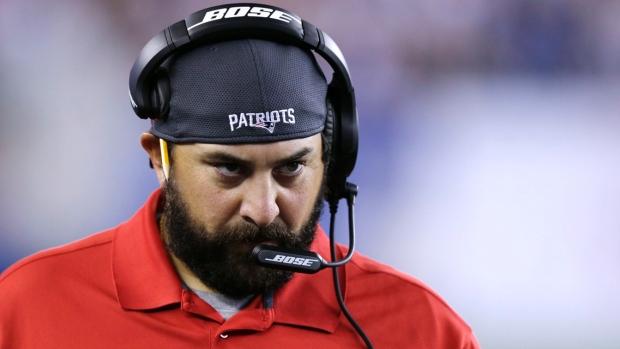Coordenadores dos Patriots Matt Patricia
