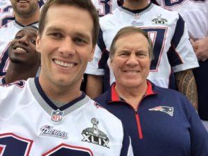 playoffs NFL New England Patriots Tom Brady Bill Belichick Rafael Belattini