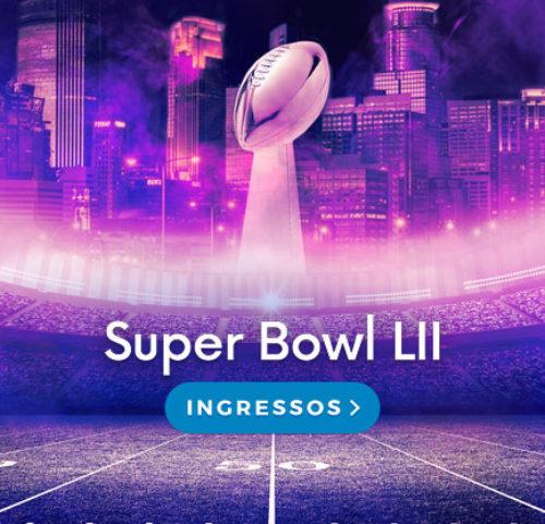 Ingressos Super Bowl LII