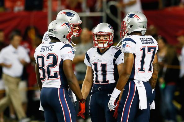 Os Patriots e a dificuldade de draftar wide receivers