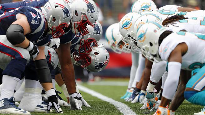 Patriots dão a volta por cima e ganham dos Dolphins