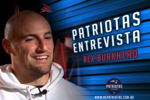 Patriotas Entrevista RB Rex Burkhead