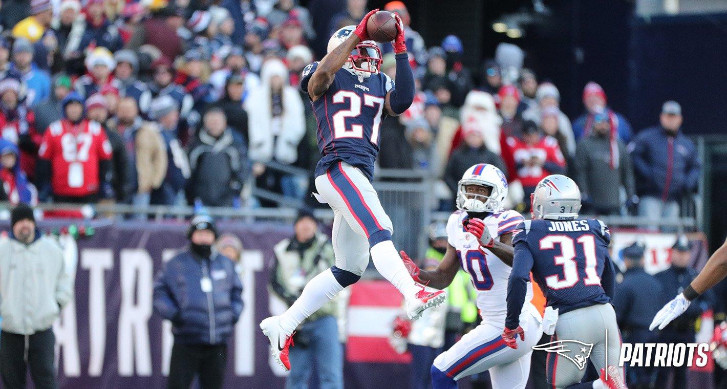 Ataque terrestre brilha e Patriots derrotam os Bills