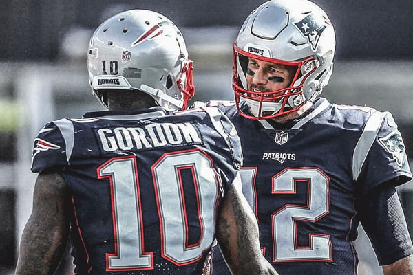 Josh Gordon Tom Brady