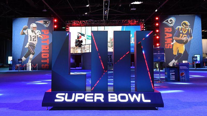Super Bowl LIII opening Night Patriots Rams