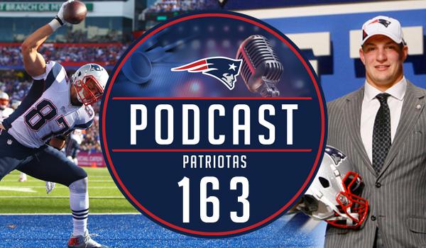 Podcast Patriotas 163 Obrigado Gronk