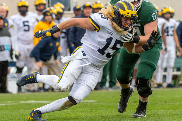 Chase Winovich Draft NFL 2019 New England Patriots