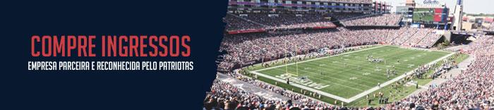 Ingressos New England Patriots NFL Fã Clube Patriotas