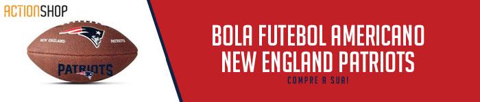 Bola Futebol Americano New England Patriots NFL