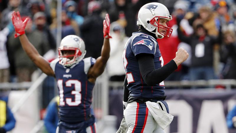Brady demonstrou ter a confiança necessária em Dorsett