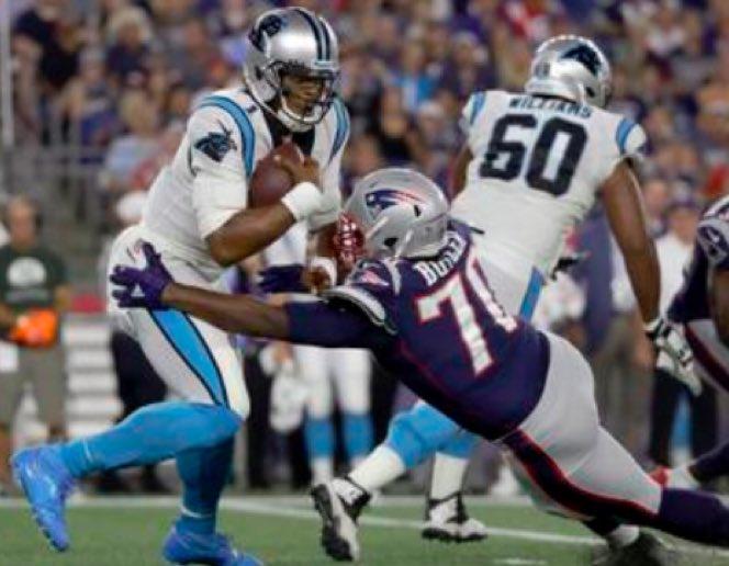 Com Brady em campo, Patriots vencem os Panthers em casa