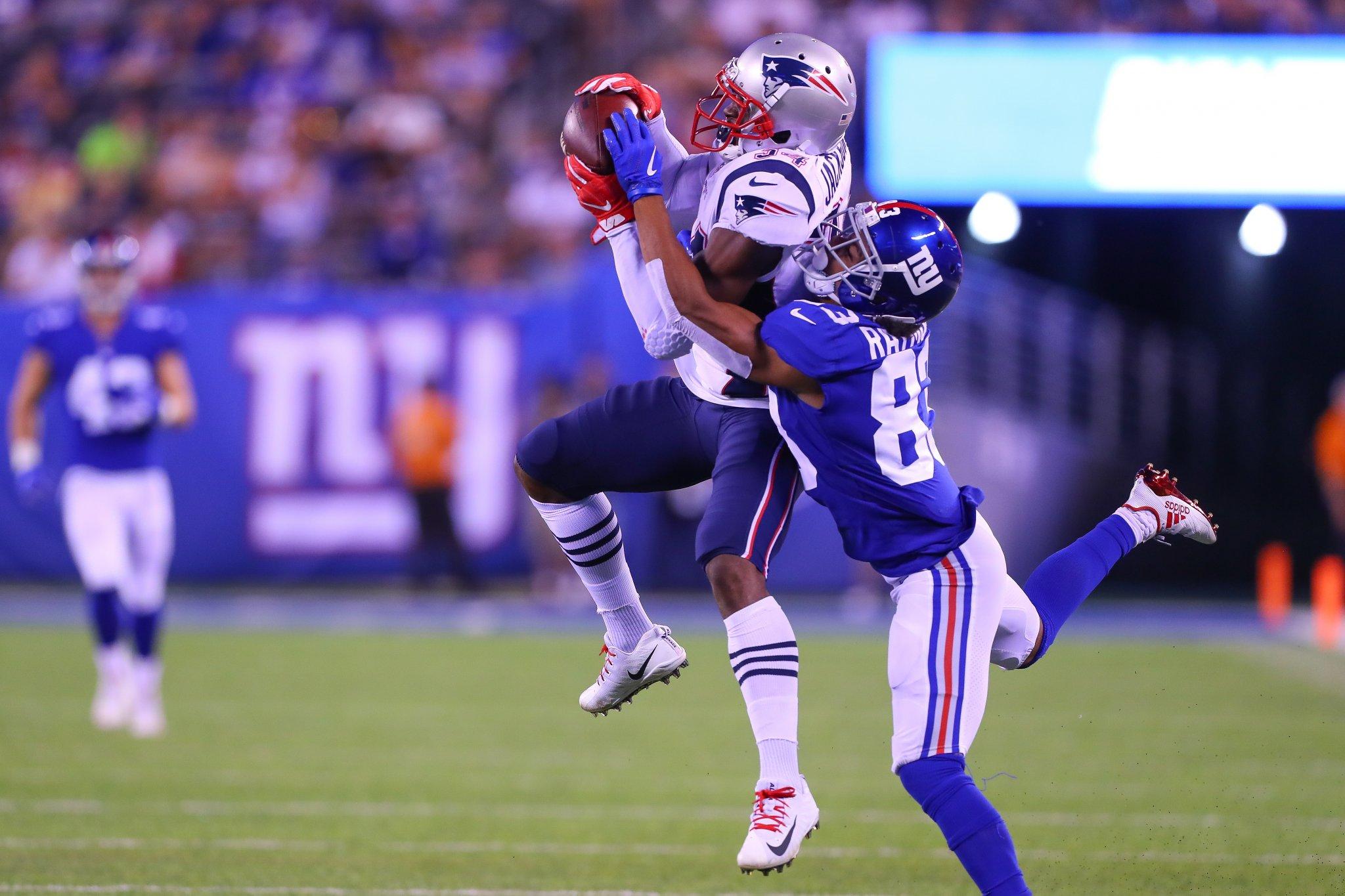 Motivos para assistir Patriots vs Giants, o último jogo da pré-temporada