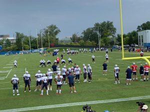 Patriots at Lions