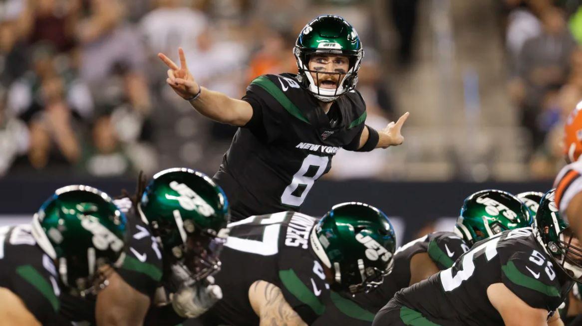 Luke Falk, quarterback do New York Jets