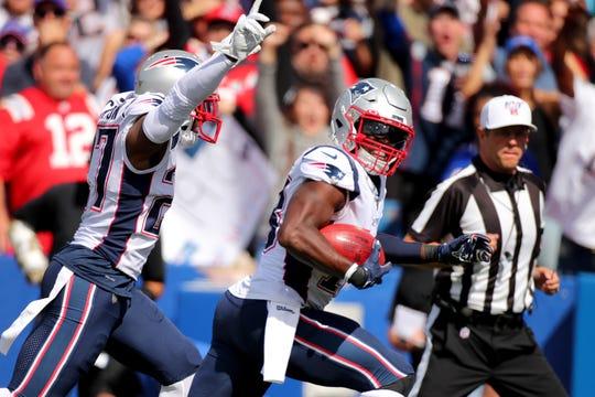 Matthew Slater marca o primeiro touchdown de sua carreira em Patriots x Bills.