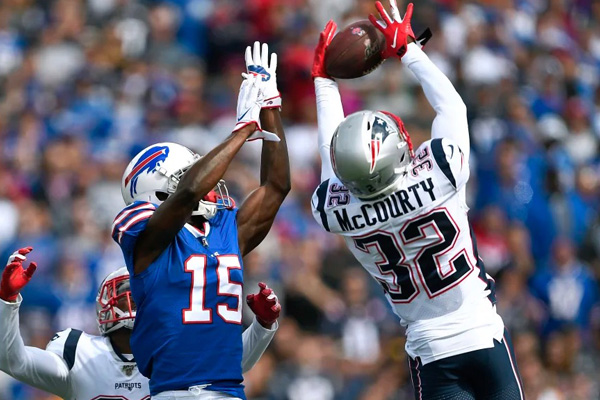 Destaques Patriots Bills semana 4 NFL
