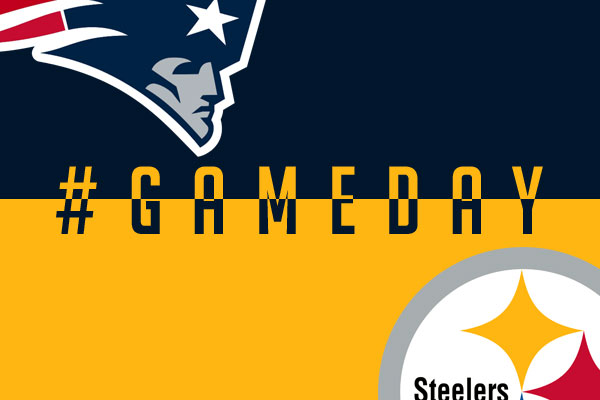 GAMEDAY New England Patriots Pittsburgh Steelers