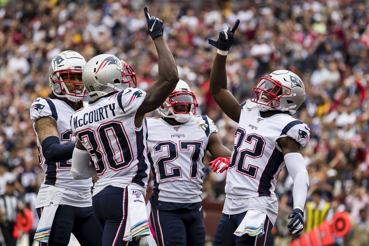 McCourtys Twins em Patriots x Redskins