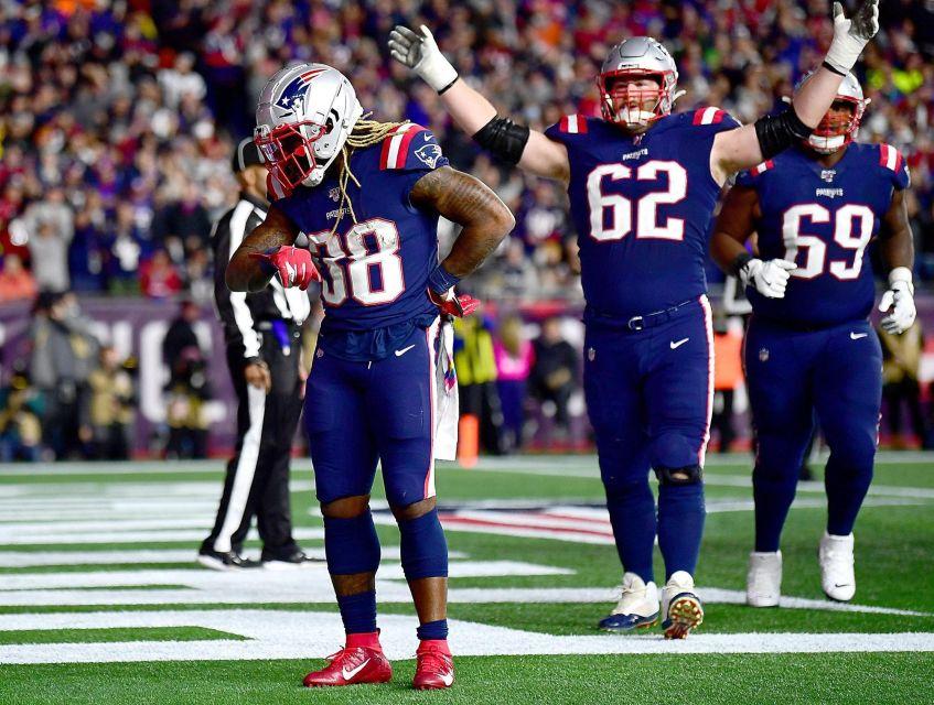 Brandon Bolden New England Patriots