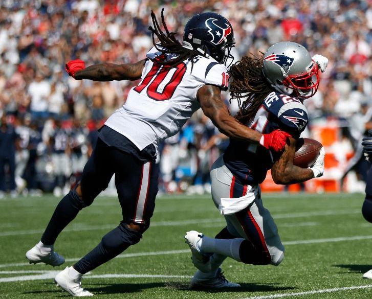 Como Patriot, Gilmore leva vantagem contra Hopkins