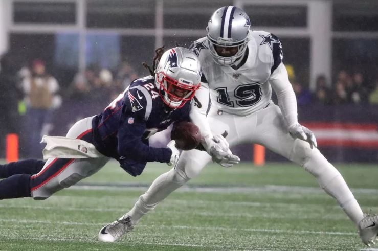 Stephon Gilmore Amari Cooper New England Patriots Dallas Cowboys NFL