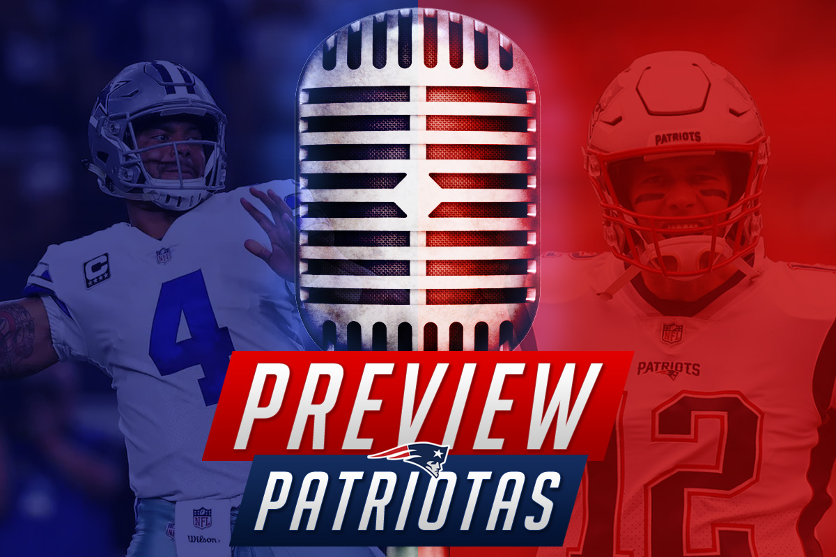 Preview Patriotas: Mais sofrimento com os Cowboys
