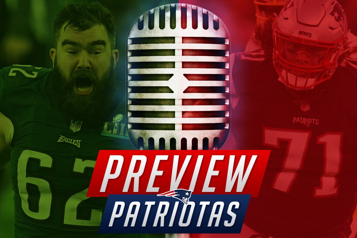 Preview Patriotas: Onde o Eagles ameaça o Patriots?