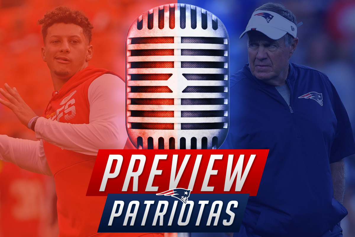 Preview Patriotas Patrick Mahomes New England Patriots Kansas City Chiefs Bill Belichick
