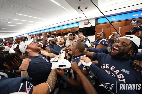New England Patriots AFC East Champions Rafael