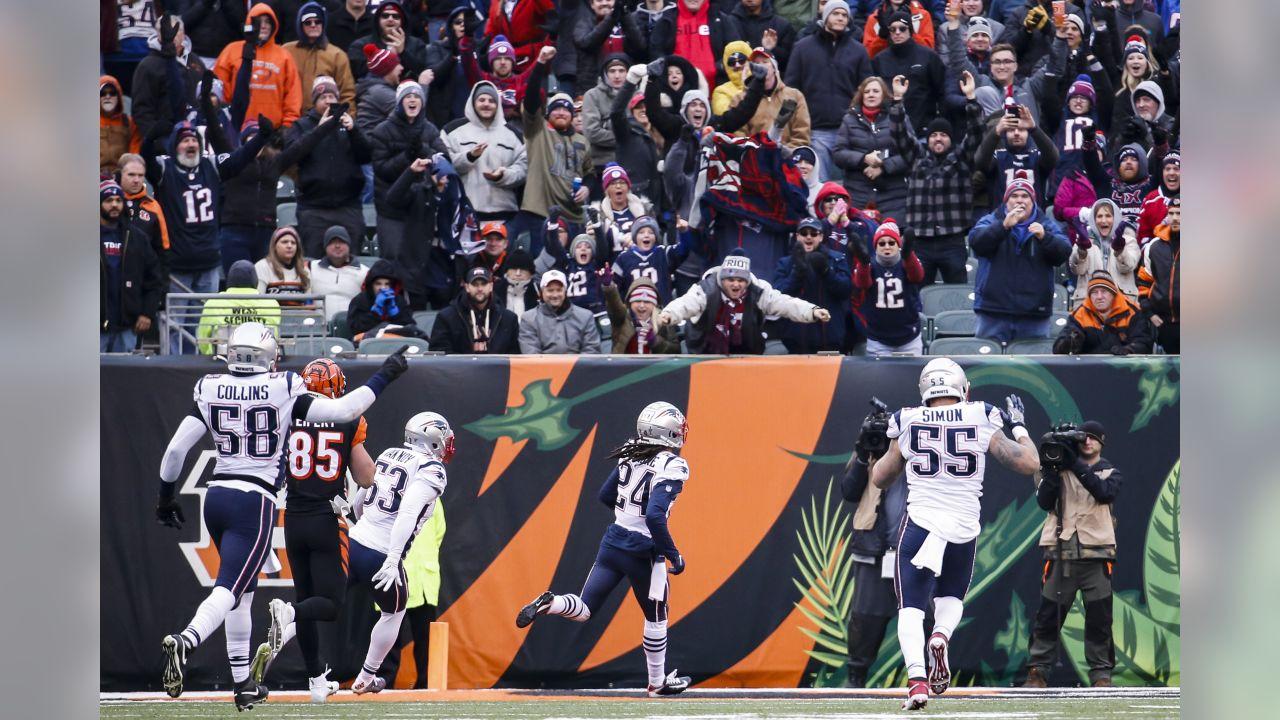 Patriots vencem os Bengals com atuação brilhante de Gilmore
